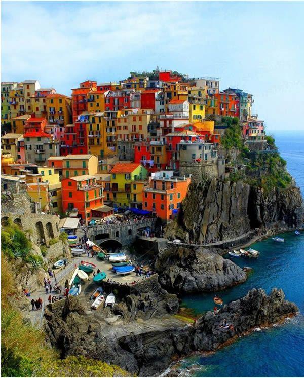 Cinque Terre Italie Italie Cinque Terre Italie Merveilles Du Monde