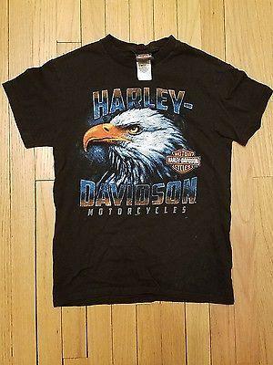 Mackinac Island Harley-Davidson 's T-shirt Size: S Zips 45th ...