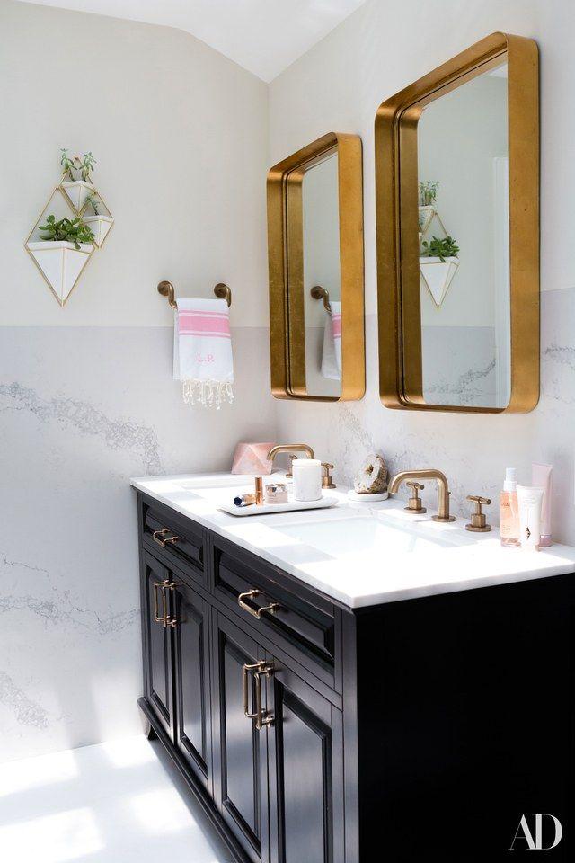 Tour Louise Roe S Los Angeles Home Elegant Bathroom Decor Bathroom Mirror Design Bathroom Mirror