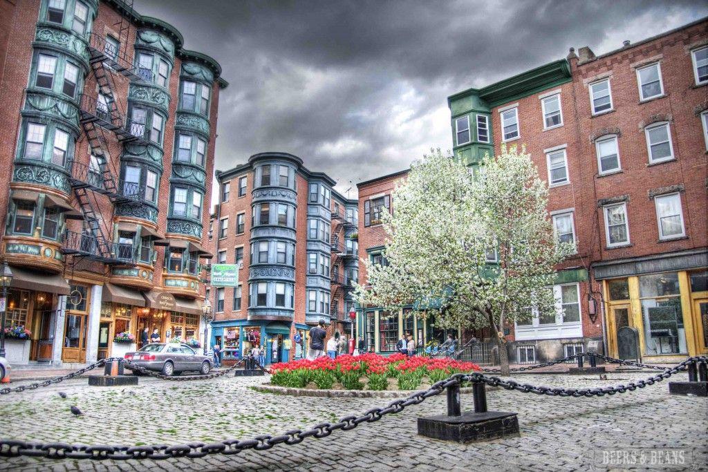 Little Italy in Boston, MA