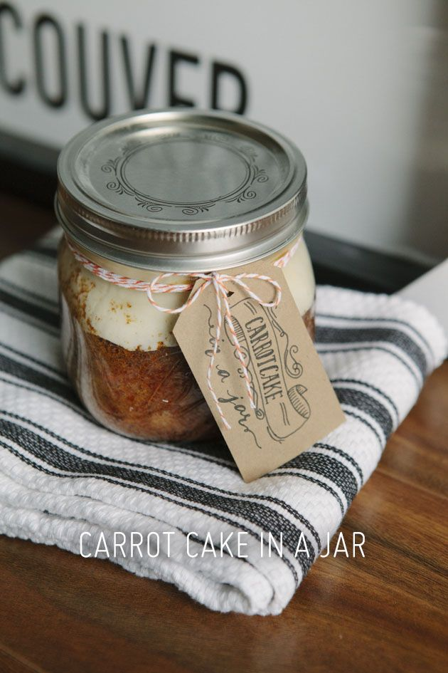Recipes for jar cakes