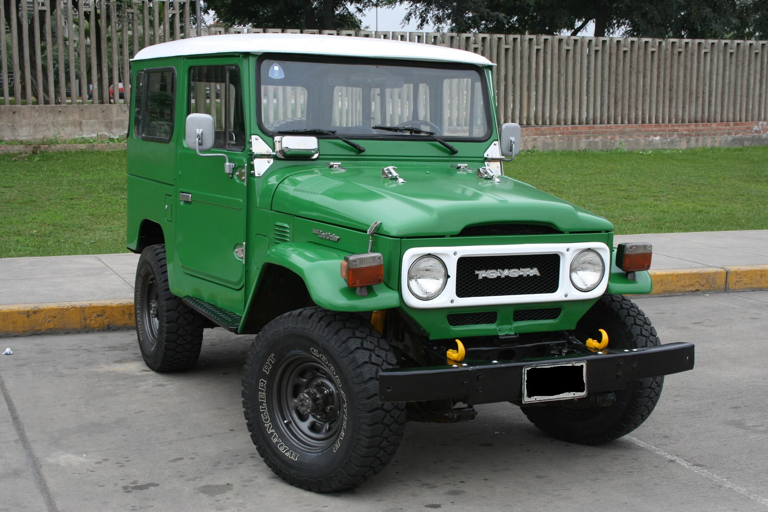 Toyota Land Cruiser Fj40 Vendo Toyota Land Cruiser Fj40 Img 5822