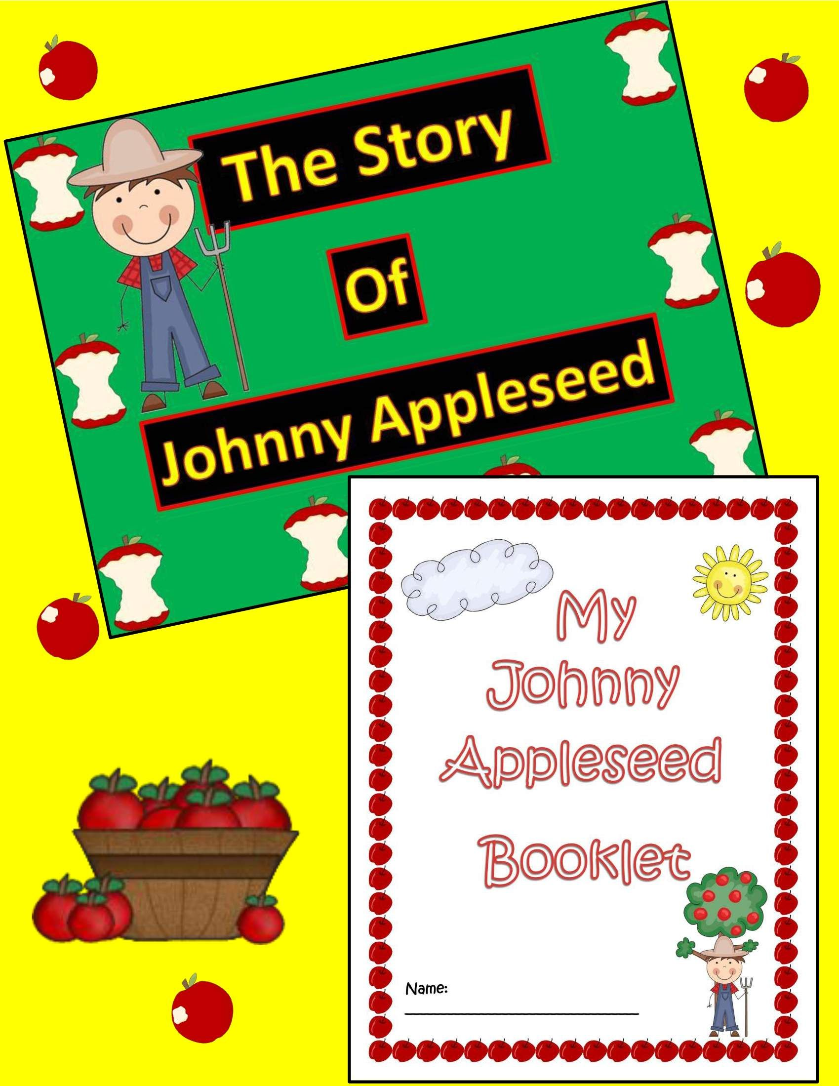 Publishers Tech Girl The Story Of Johnny Appleseed