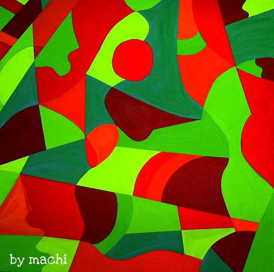 Images for complementary color painting red and green - Complementary color of pink ...