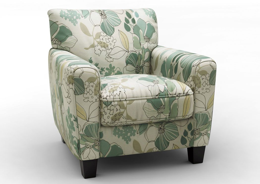 Bright Green Accent Chair