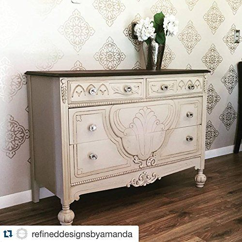 Renaissance Chalk Paint Ivory Tower Antique White Click To Get These Colors Painted Furniture Renaissance Furniture Chalk Furniture Furniture