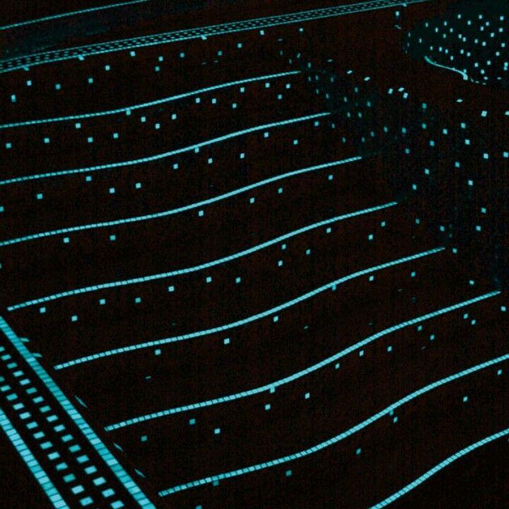 Glow In The Dark Pool Tile Mosaics