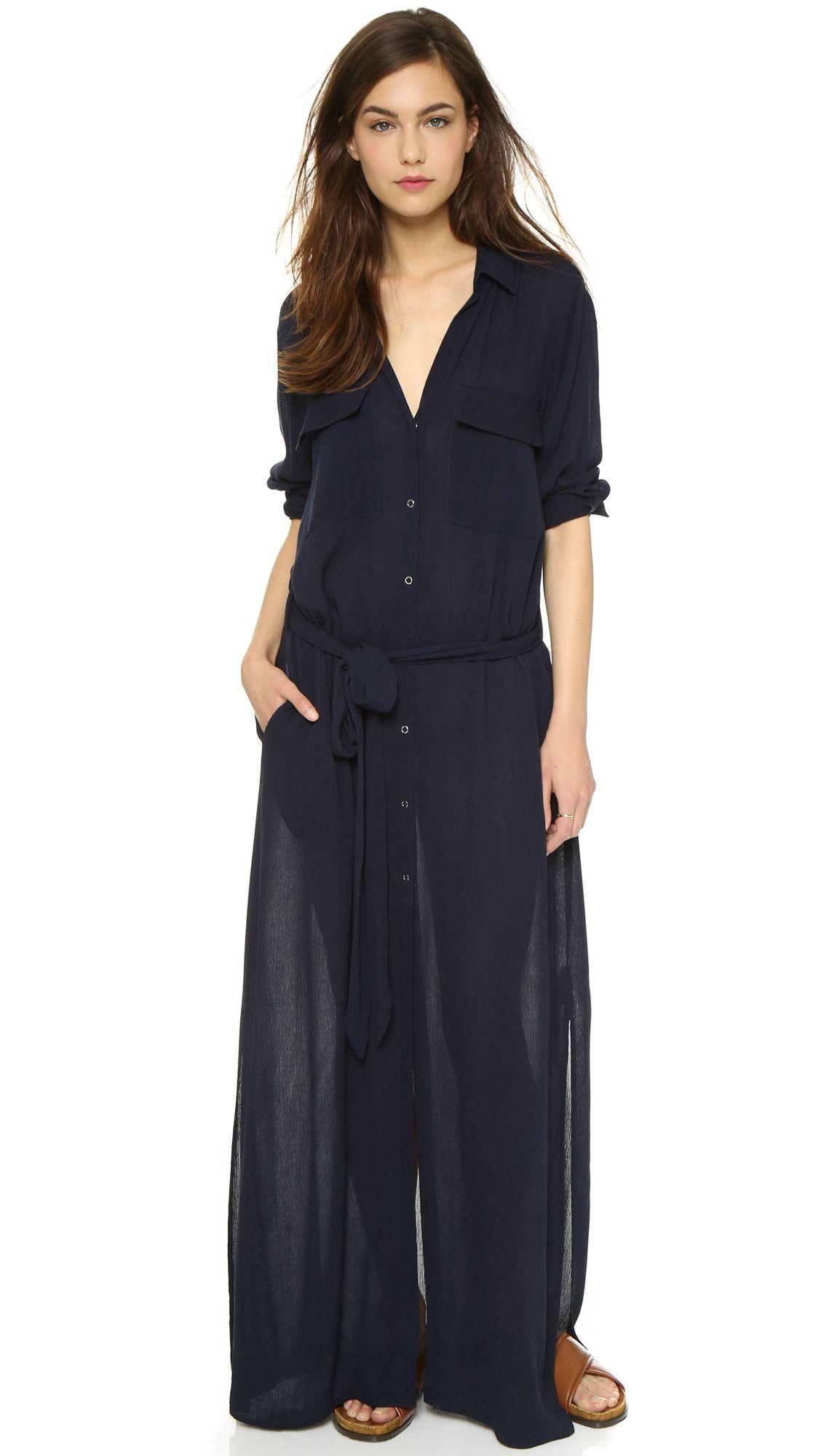 Midnight Created By Shopbop Beach L'agence Dress Maxi Alani com wAIxqBTn
