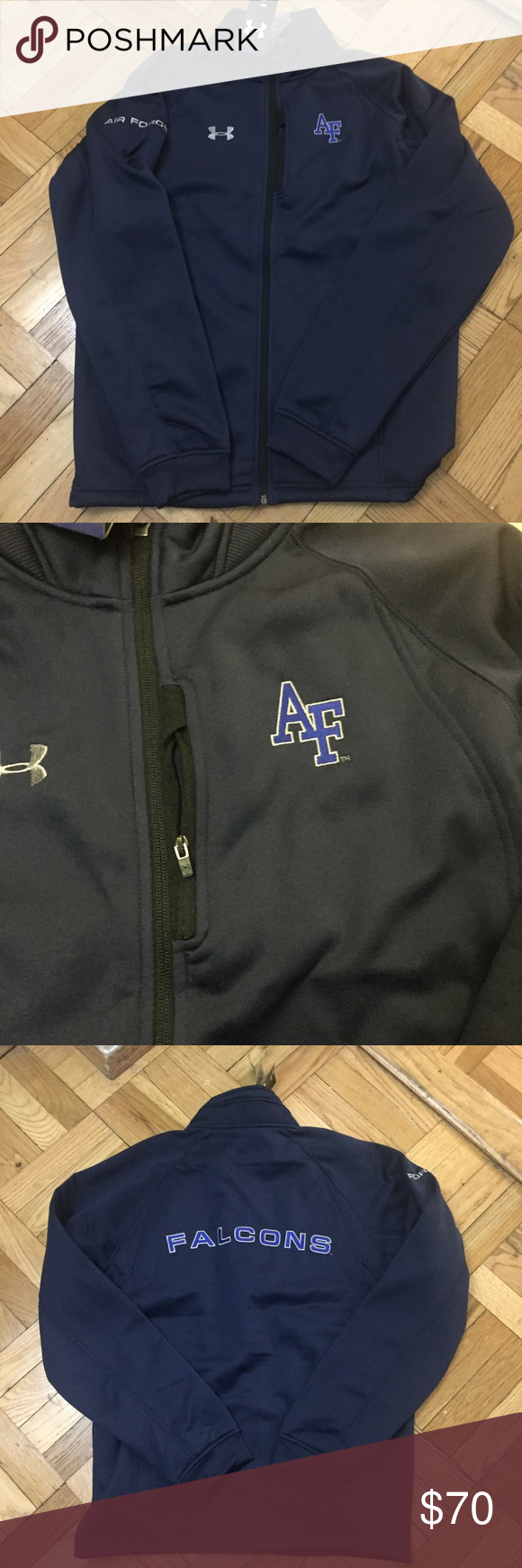 Under Armour Air Force Falcons ZipUp Jacket Integrity