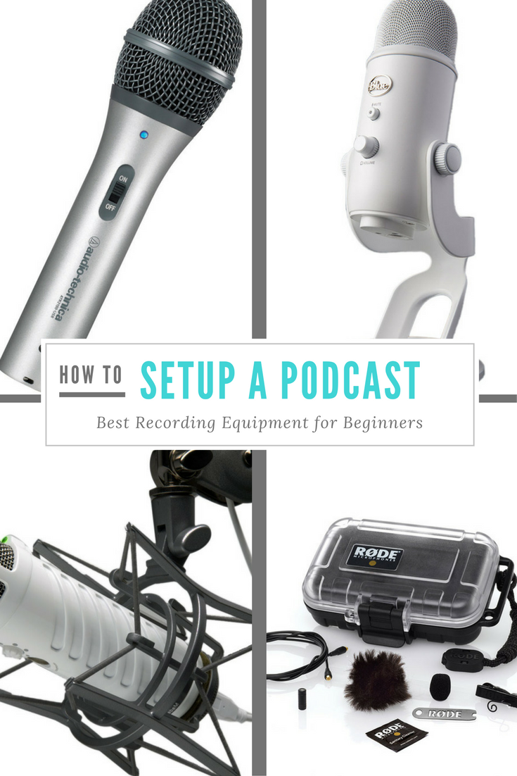 How to Setup a Podcast Best Recording Equipment for