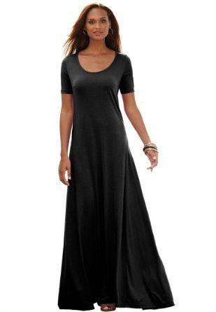 9ca3428f6d7 Jessica London Plus Size Tee Shirt Maxi Dress - Dress it up