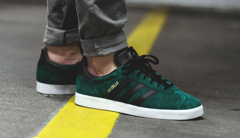 adidas gazelle indoor groen