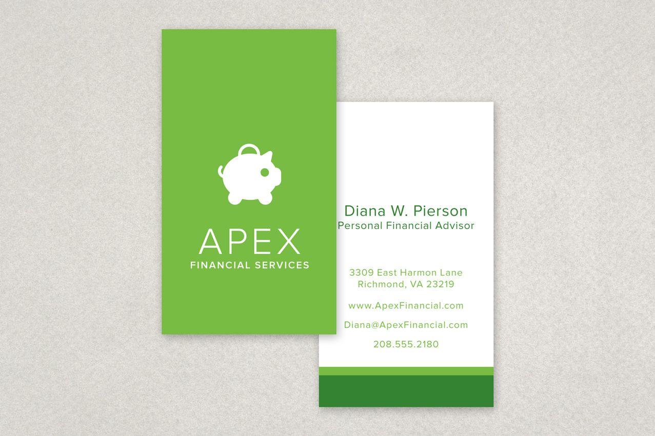 Natural Cosmetics Business Card Template - An organic cosmetic ...