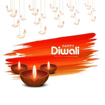 Hindu Festival Diwali Greeting Card Design For Happy Diwali Background, Abstract, Light, Diwali PNG and Vector with Transparent Background for Free Download
