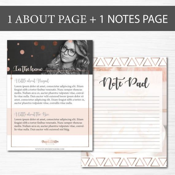 EBook Template, Lead Magnet, Workbook Template, Freebie