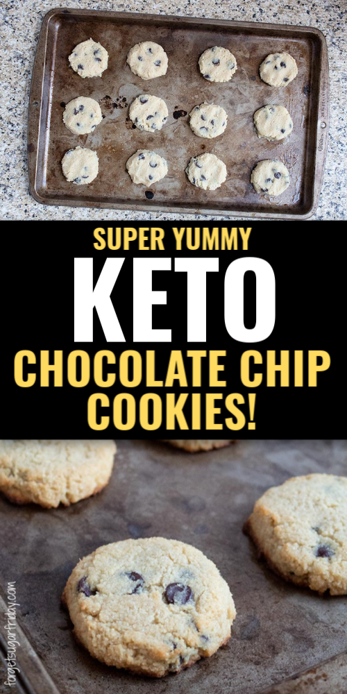 Yummy Keto Chocolate Chip Cookie Recipe In 2020 Delicious Low Carb Recipes Diet Desserts Recipes Keto Chocolate Chip Cookies