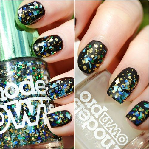Models Own Swatched! mirrorball