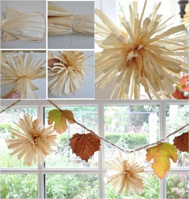 Bricolage maison facile en 60 idées de décoration automnale Noel