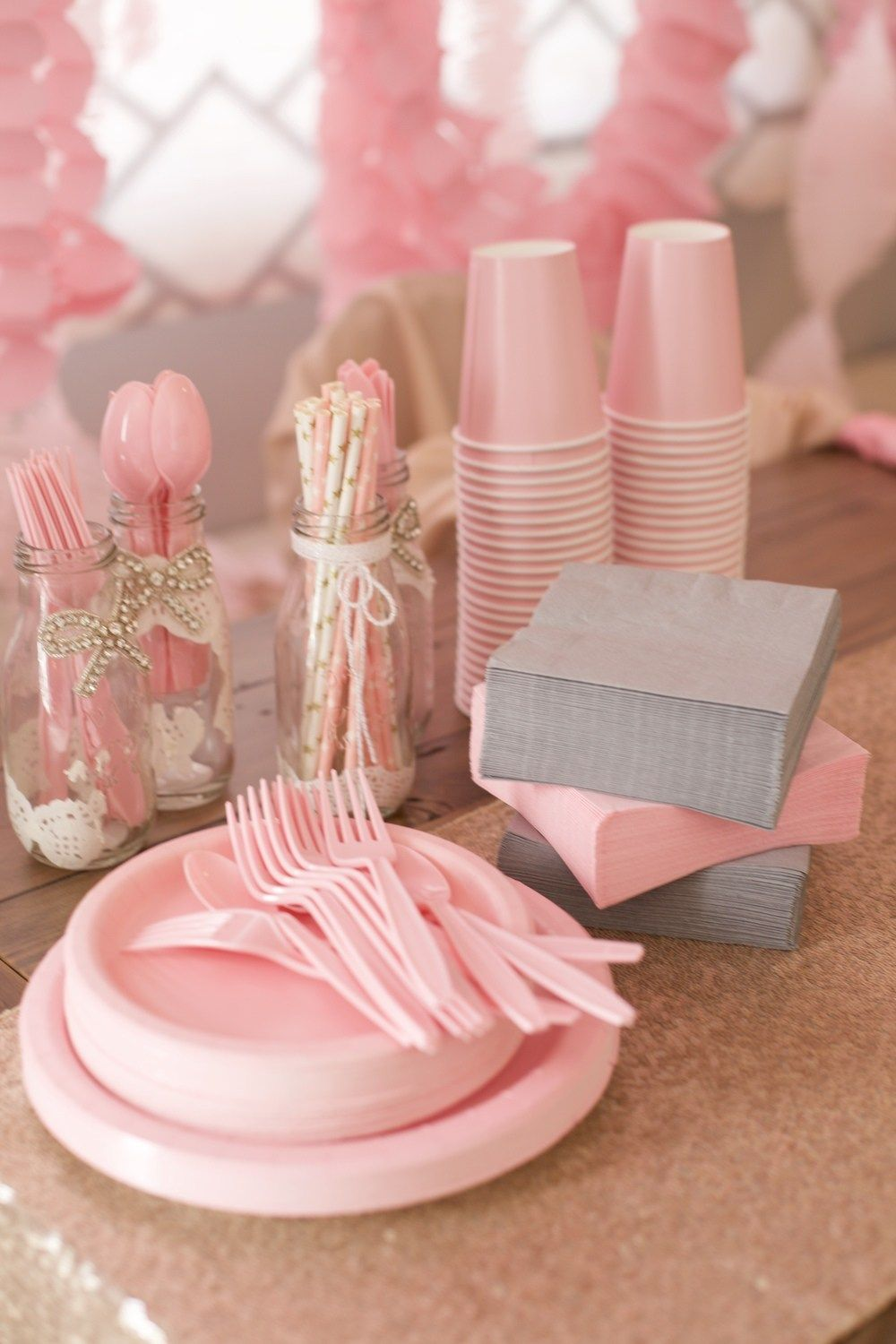 diy baby girl first birthday party pinterest projects home