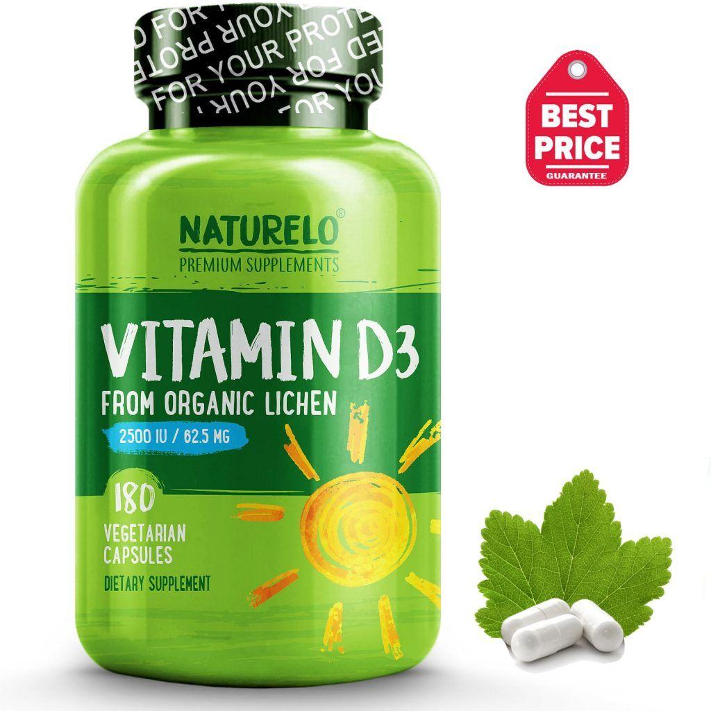 PlantBased Vitamin D3, 2500 IU Vitamins, Whole foods