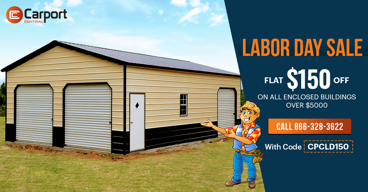 LABOR DAY SALE Flat 150 OFF on fully enclosed metal