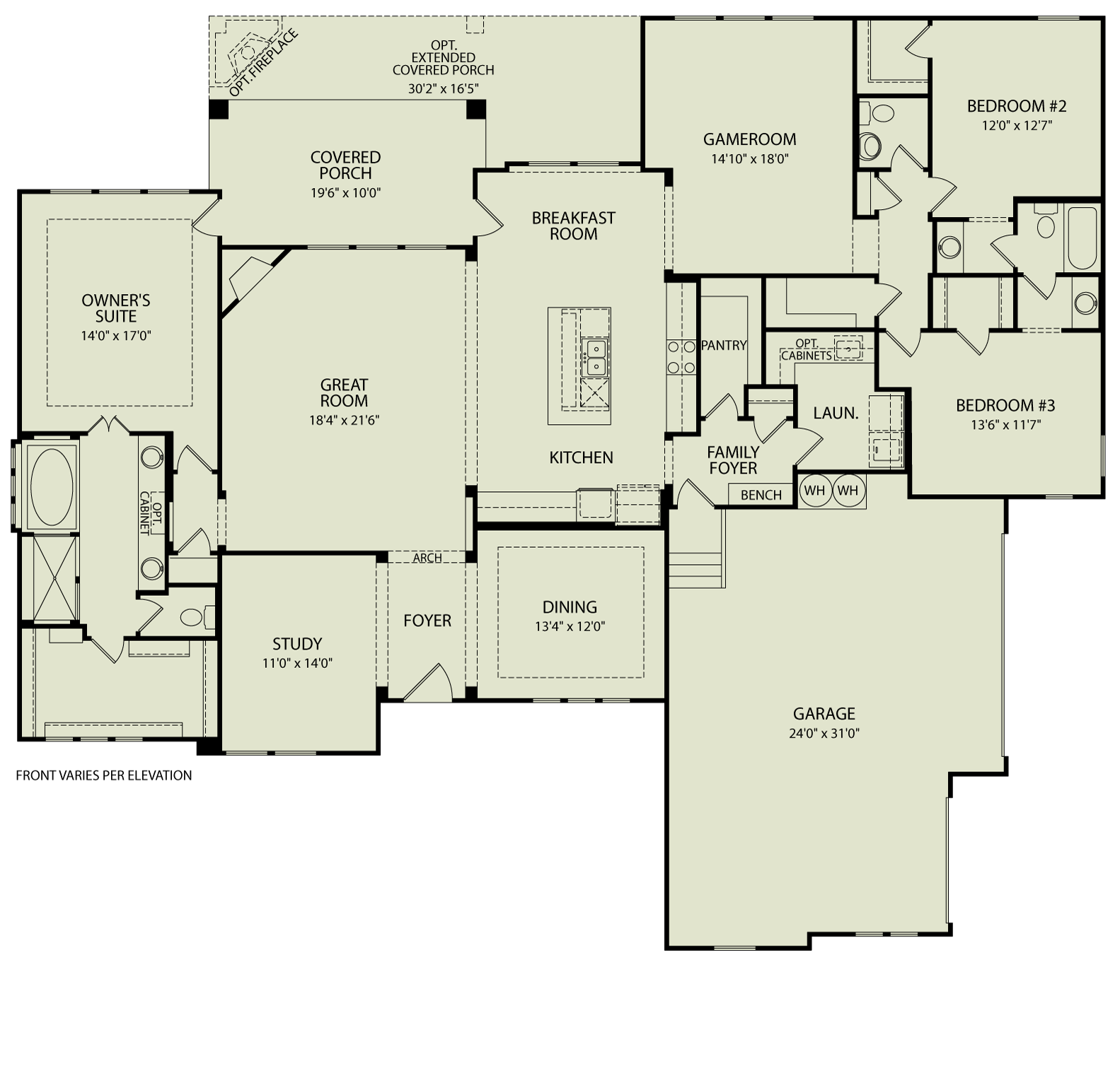 Conner 125 Drees Homes Interactive Floor Plans Custom Homes