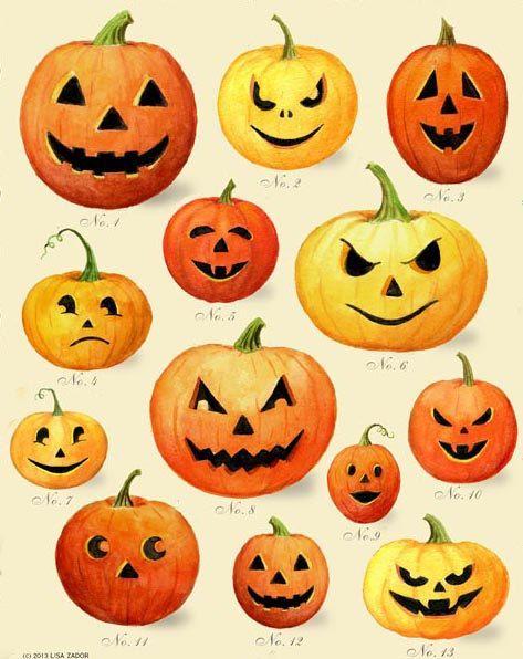 Jack O Lantern Print Halloween Print Pumpkin Print Halloween