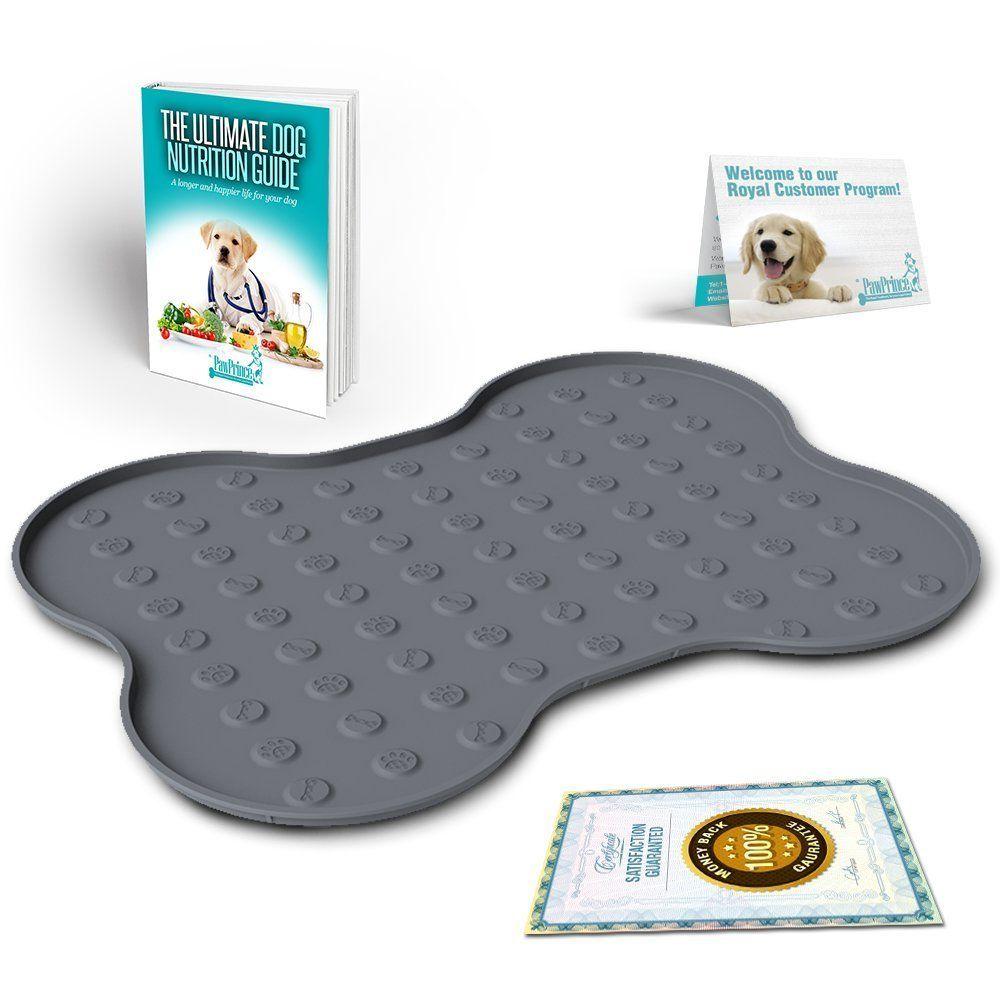dog cat mat anchors quatrefoil feeding custom nautical mats pet placemat personalized print food place