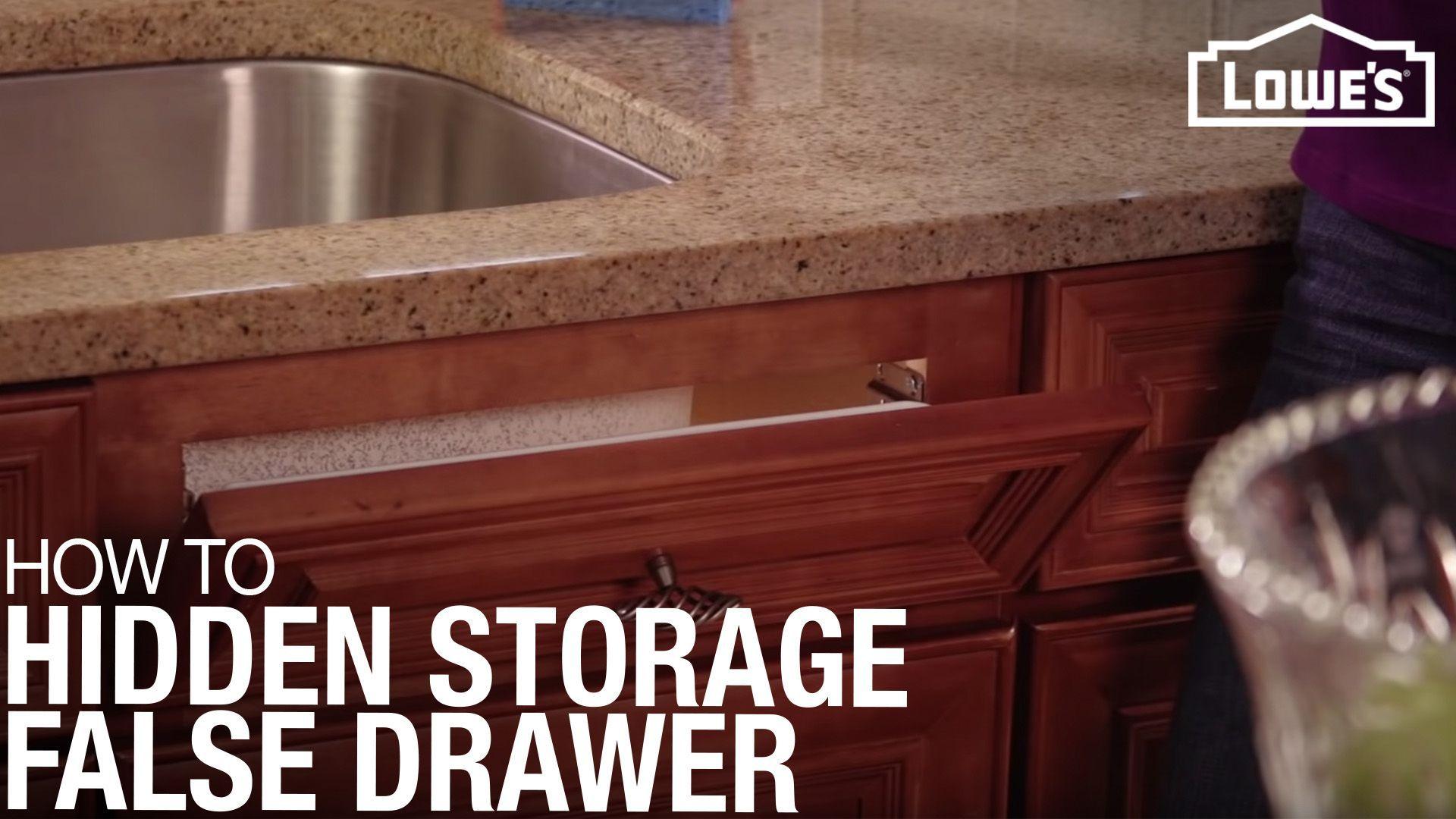 Hidden Storage False Front Drawer Hidden Storage Corner Sink Kitchen Bathroom Vanities Without Tops