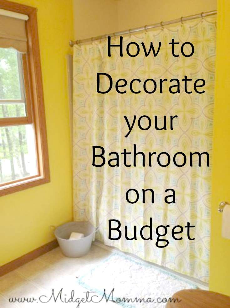 You Can Easily Learn How To Decorate Your Bathroom On A Budget With These Simple Tips