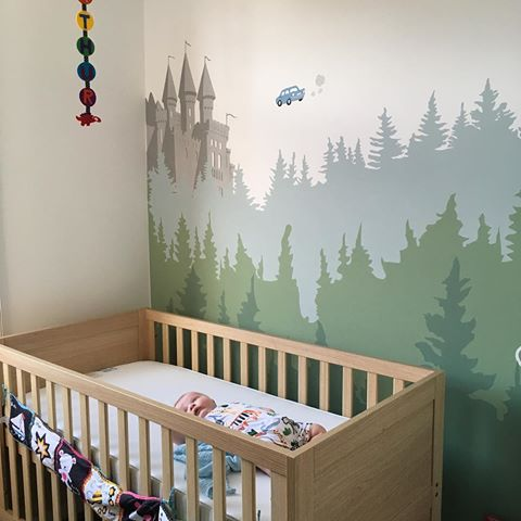 Hogwarts Silhouette Mural Google Search Harry Potter Baby Nursery Harry Potter Nursery Nursery Baby Room