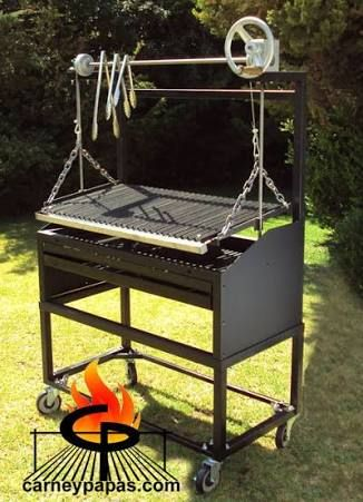 Resultado de imagen para modelos de parrillas para asados for Hogares a gas rusticos