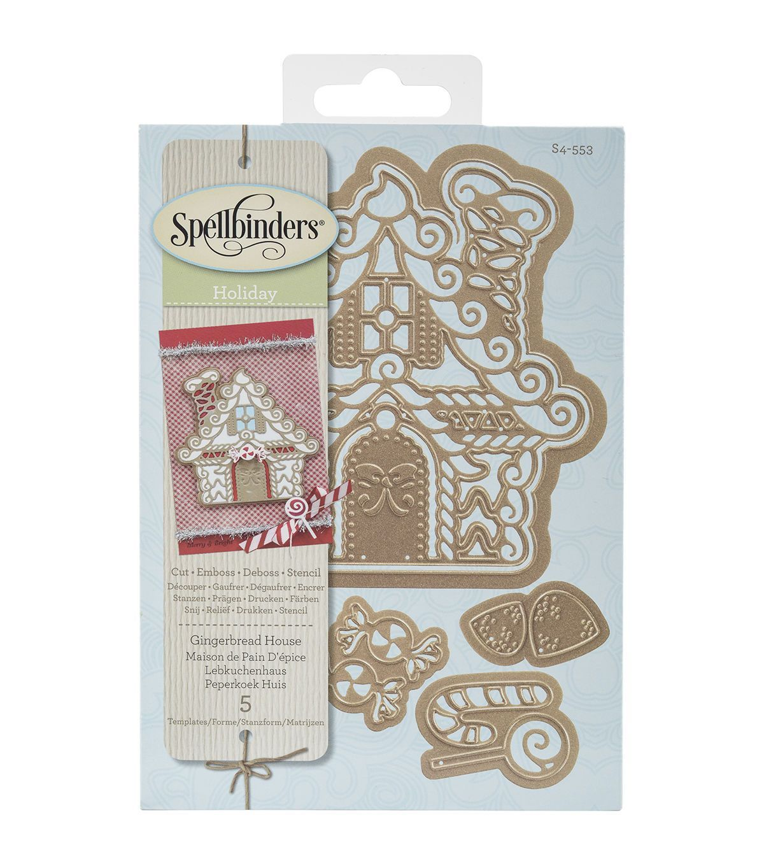 Cut gaufrer Stencil Spellbinders in /'spire notre maison Die Set-IN-011
