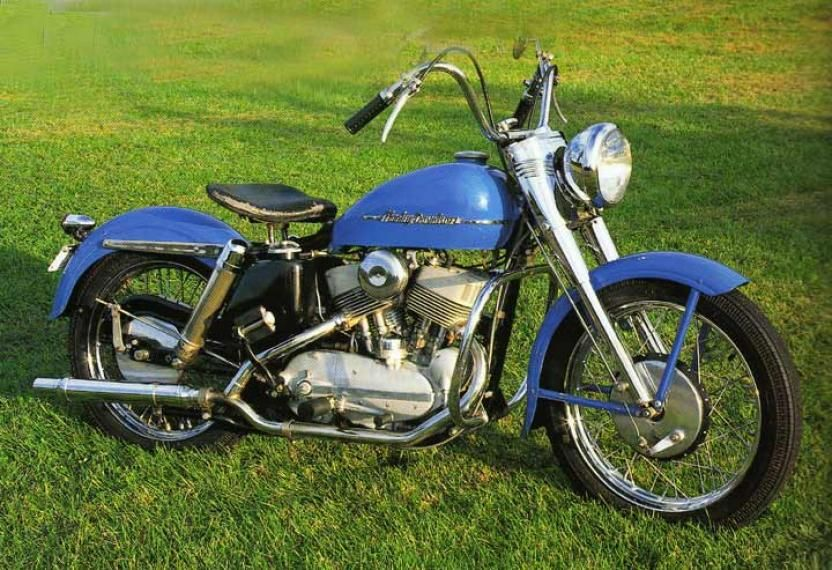 1952 Harley Davidson K-45, In later years this became the Sportster