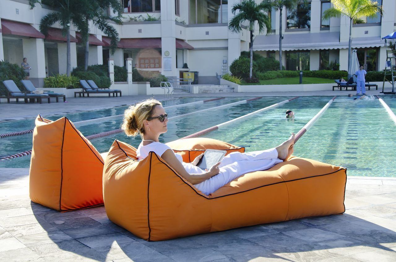 Pool Outdoor Bean Bag Chairs : Popularity Outdoor Bean Bag
