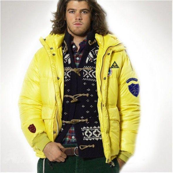 Ralph Lauren Downhill Racer Jacket Yellow http://www.ralph-laurenoutlet.
