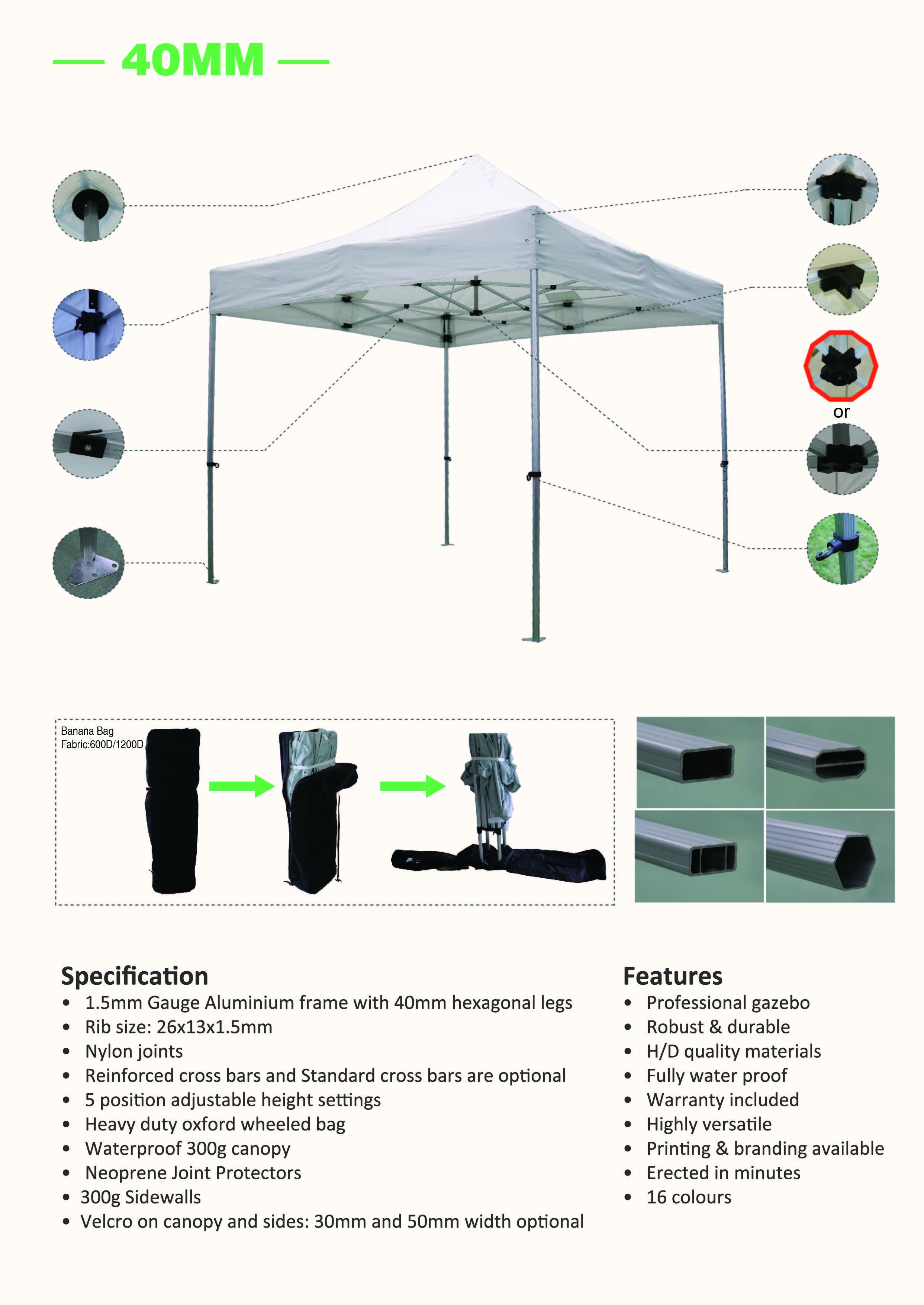 folding gazebos folding up tables compact gazebos caravan tent rh pinterest com