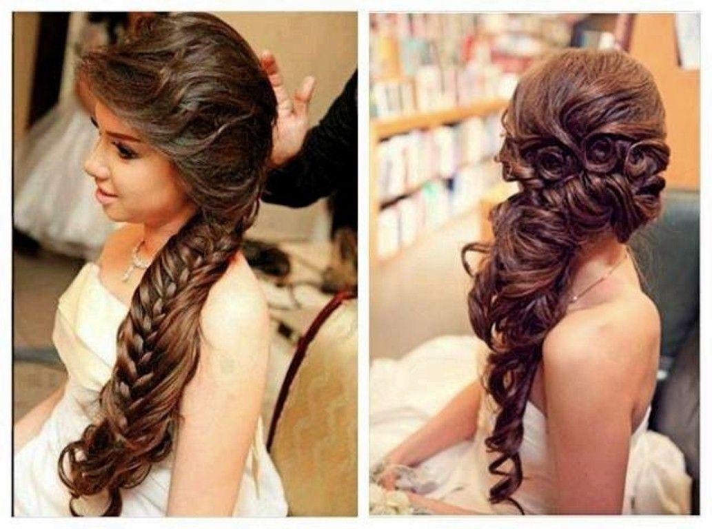 bridal hair - wedding day - wedding hairstyles for long hair