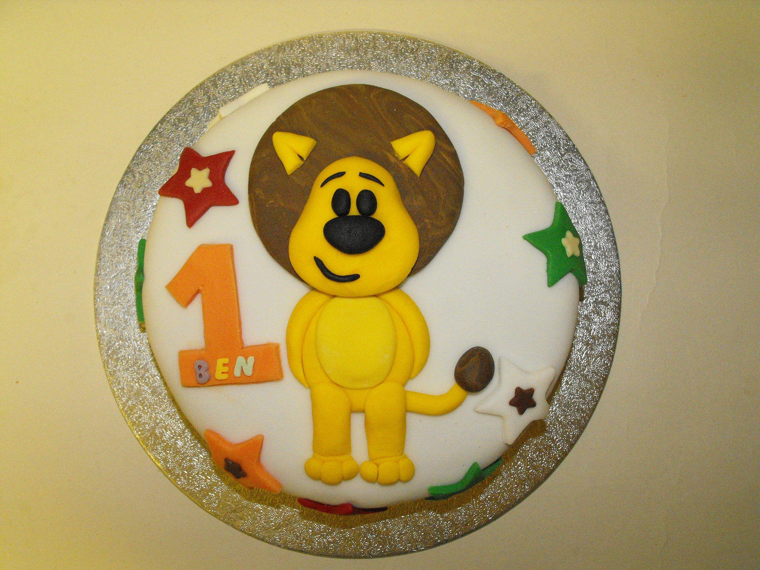 Best Raa Raa The Noisy Lion Party Images On Pinterest Lion - Lion birthday cake design