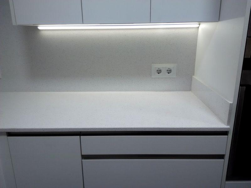 Iluminación LED bajo mueble | Cocinas | Pinterest