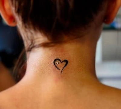 Tatuajes Pequeños En El Cuello Para Hombres Y Mujeres Tatuajes