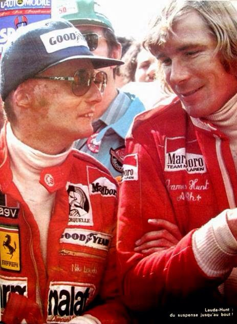 James Hunt Et Niki Lauda : james, lauda, James, Hunt,, Formula