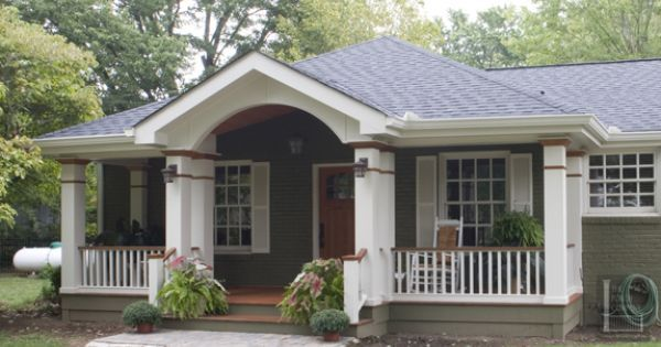 Hip Roof With Bump Out Porch Roof Styles Front Porch Addition Front Porch Design