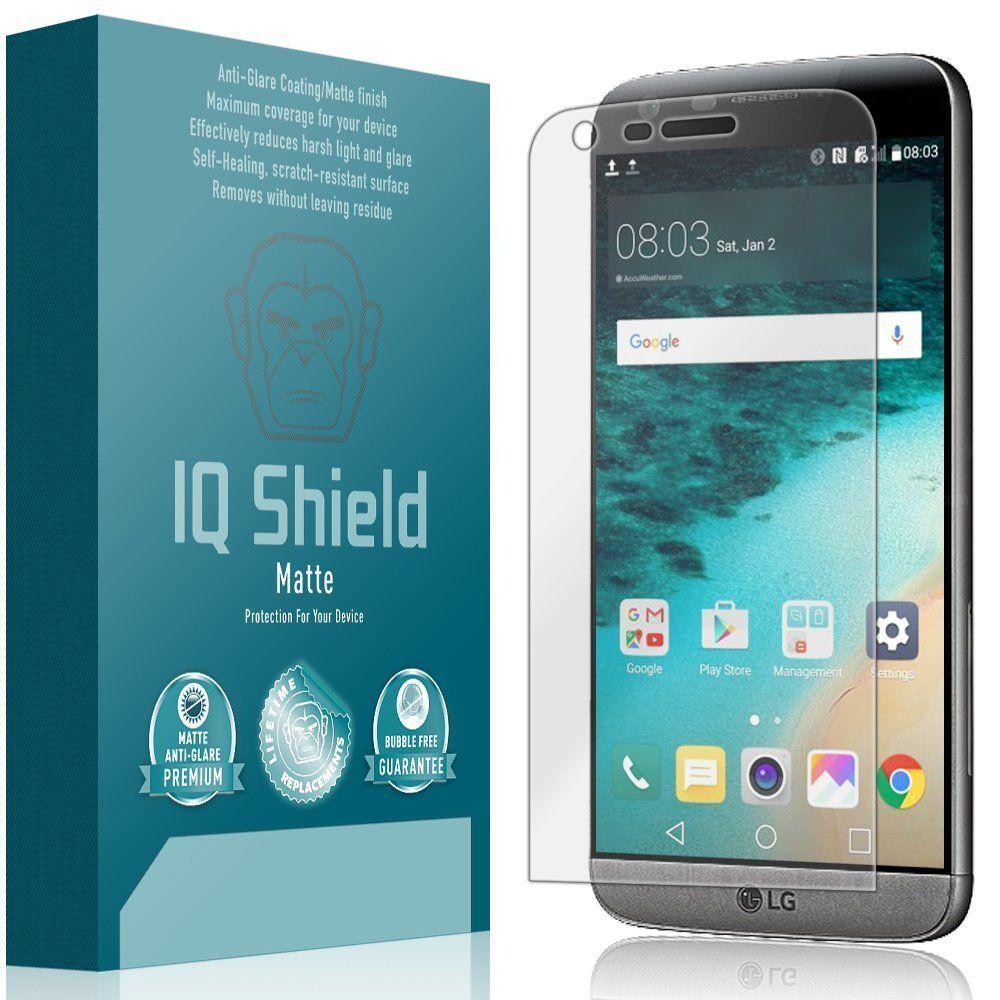 LG G5 Screen Protector, IQ Shield Matte (2Pack) Full