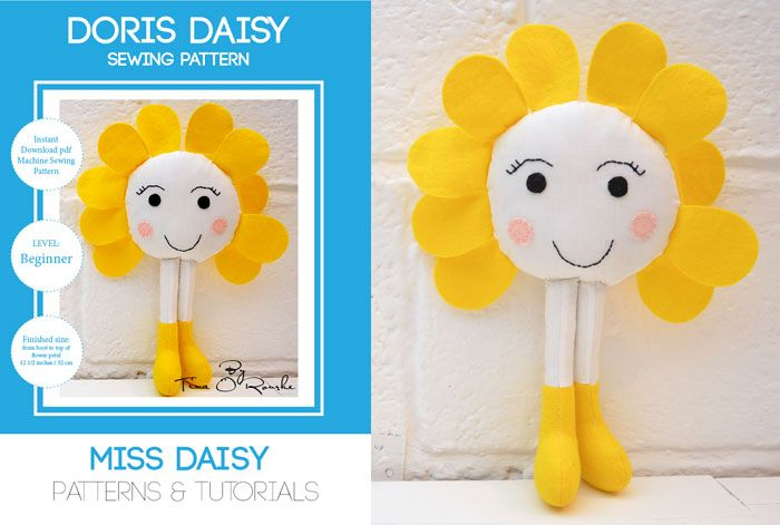 Indie sewing pattern designer of softies, dolls and crafts. Instant ...
