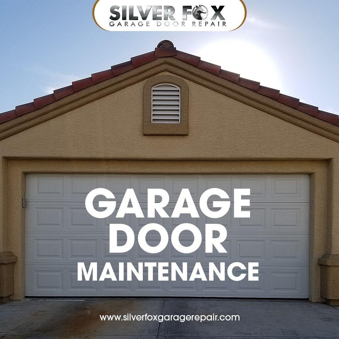 Silver Fox Garage Door Offers Garage Door Repair Services Maintenance In Las Vegas 24 7 Emergency Servic Door Repair Garage Door Repair Service Garage Doors