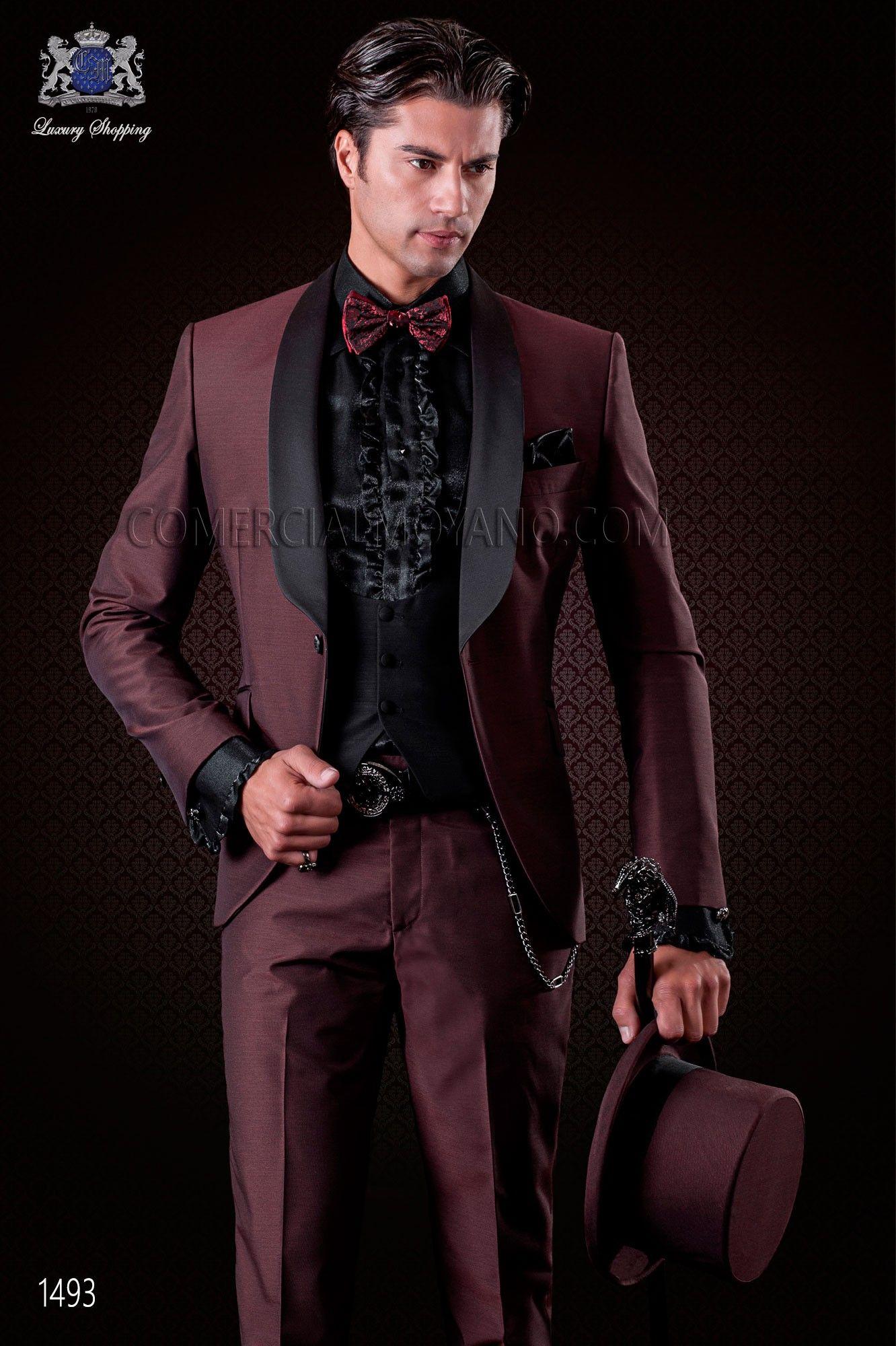 grenat mode costume de mari tuxedo ottavio nuccio gala costume mariage chaussure mariage et. Black Bedroom Furniture Sets. Home Design Ideas