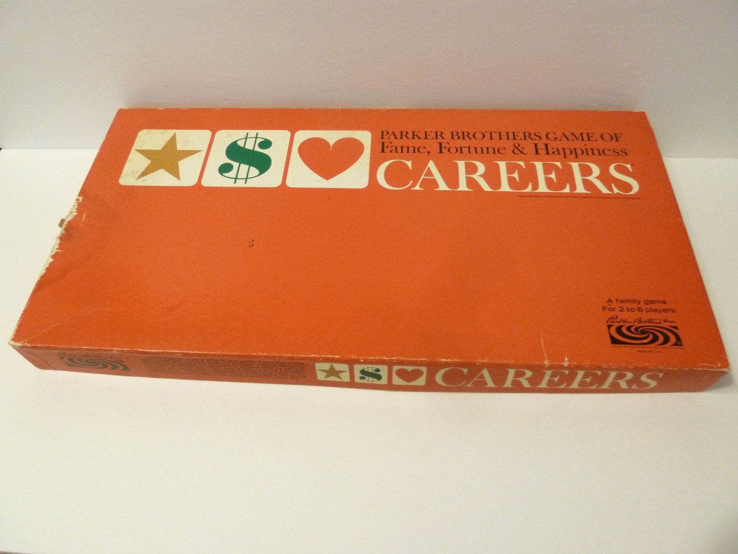 Careers Board Game, Circa 1965, by Parker Brothers by