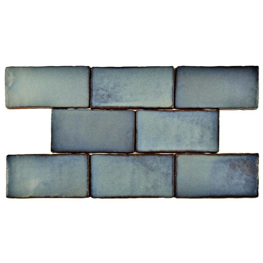 Merola Tile Antic Special Griggio 3 in. x 6 in. Ceramic Wall Tile (1 ...