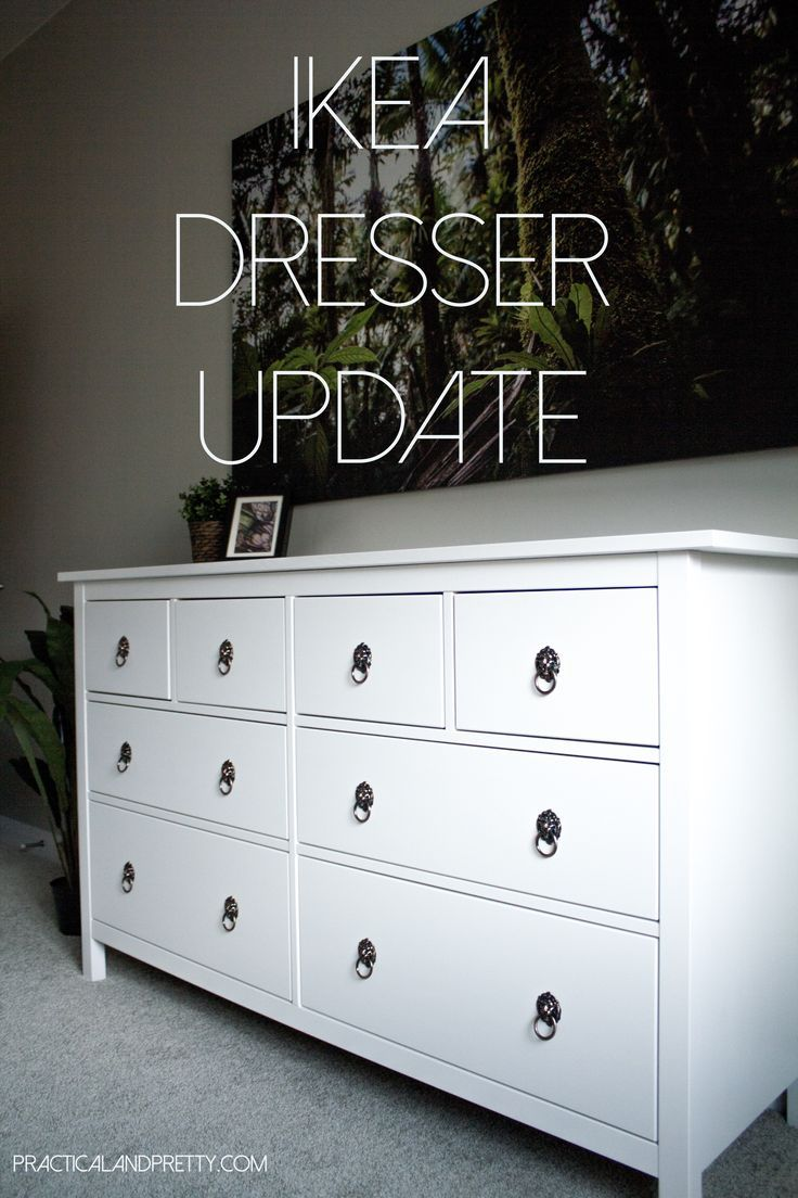 Ikea Hemnes Dresser Hack Practical And Pretty Ikea Hemnes Dresser Ikea Dresser Ikea Hemnes